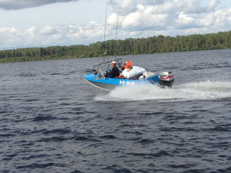 прокат катеров лодок череповец