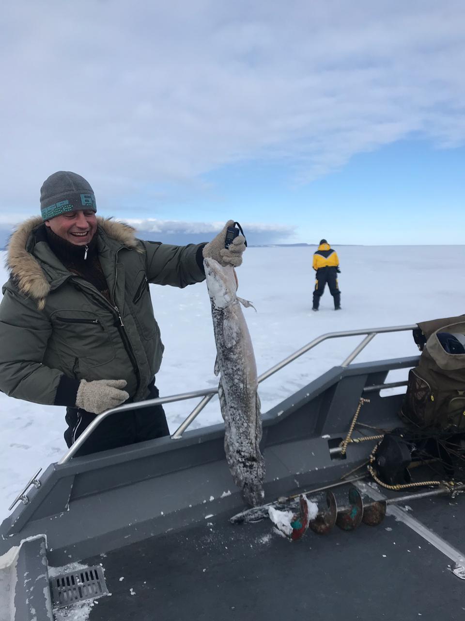 база Якорная рыбалка в карелии зимой